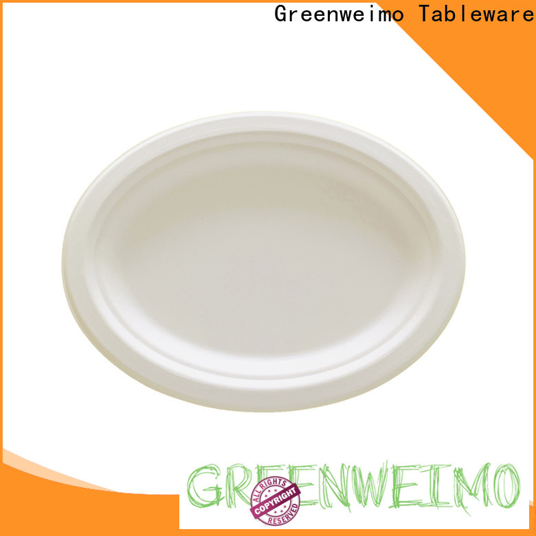 Greenweimo Top eco paper plates Supply for wet food