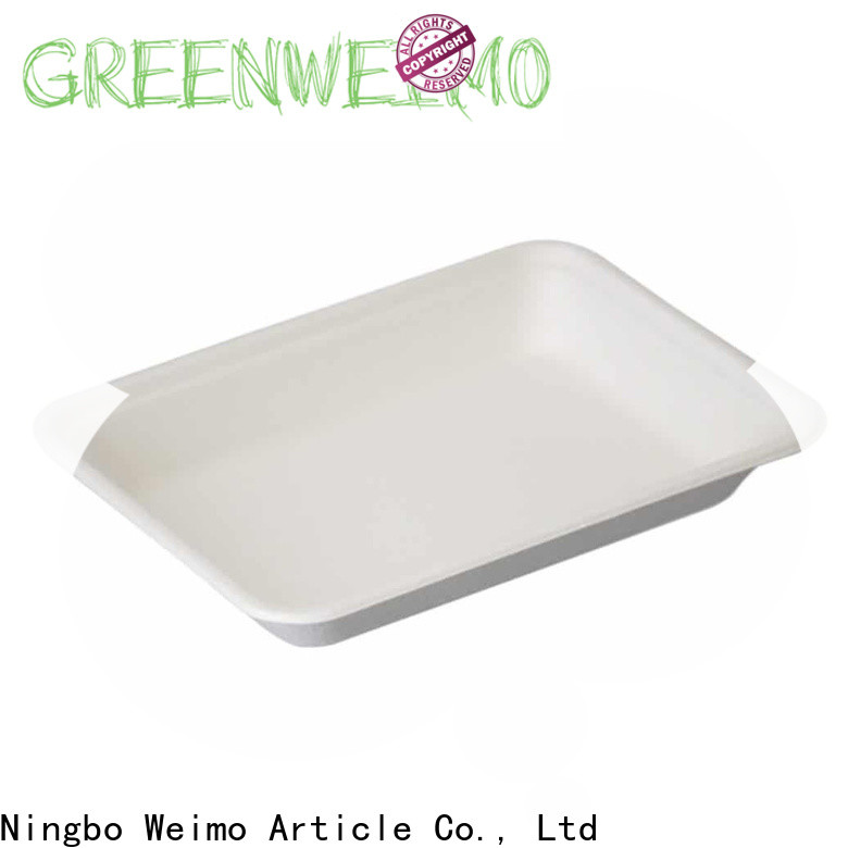 Latest bagasse tray inch for business for party