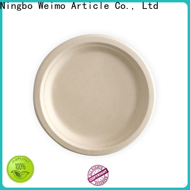Greenweimo food green paper plates for business for party