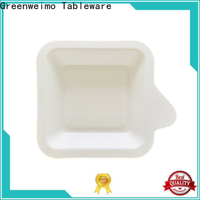 Greenweimo Wholesale environmentally friendly lunch trays Supply for hot food