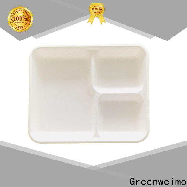 Greenweimo Wholesale biodegradable tray factory for party