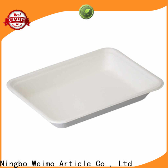Wholesale lunch tray biodegradable Supply for party