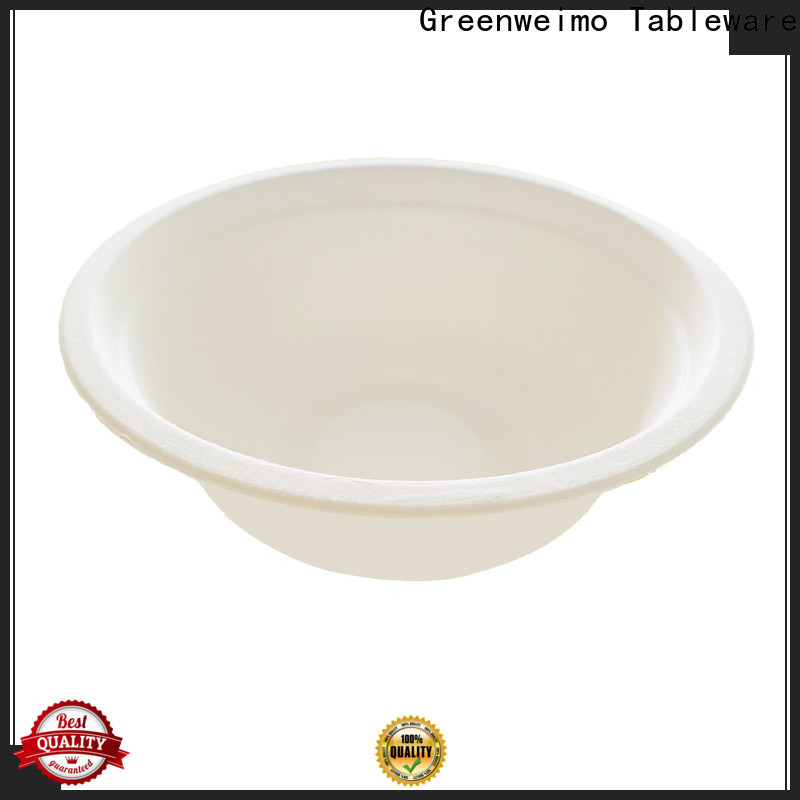 Greenweimo High-quality sugarcane plates factory for meal