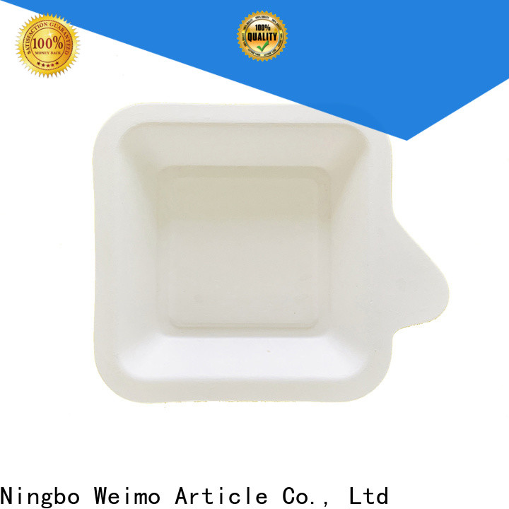 Greenweimo Latest biodegradable meat trays Suppliers for oily food