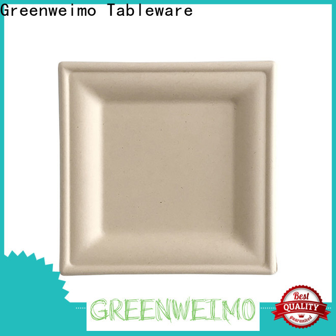 High-quality compostable plates and cutlery disposables manufacturers for hot food