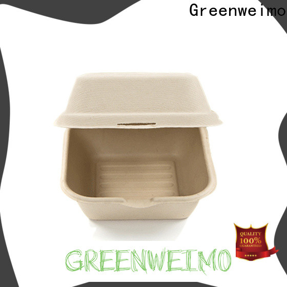 Greenweimo Custom biodegradable takeout containers for business for delivering
