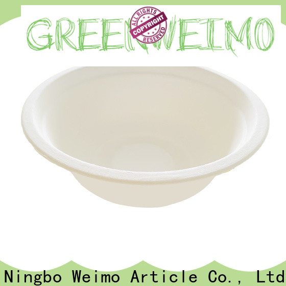 Greenweimo fiber eco friendly containers factory for meal