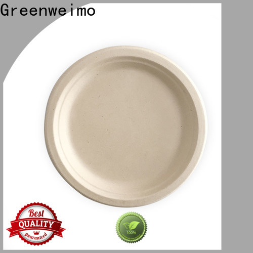 Greenweimo High-quality disposable plates and cups manufacturers for hot food