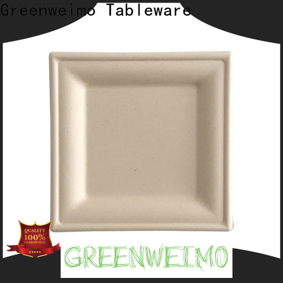 Greenweimo ellipse biodegradable disposable utensils company for hot food