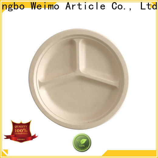 Greenweimo Best bagasse bowl factory for wet food