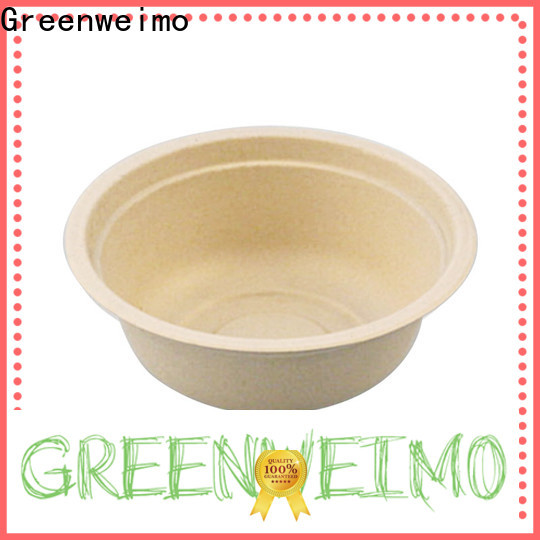 Greenweimo Top sugarcane plates company for food