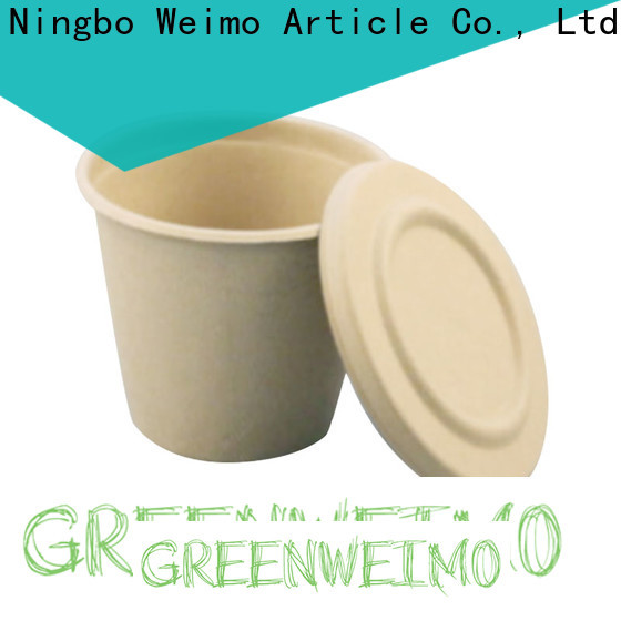 Greenweimo lid biodegradable cups wholesale Suppliers for drinking