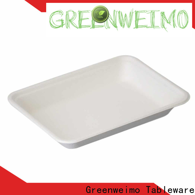 Greenweimo Wholesale environmentally friendly lunch trays factory for party