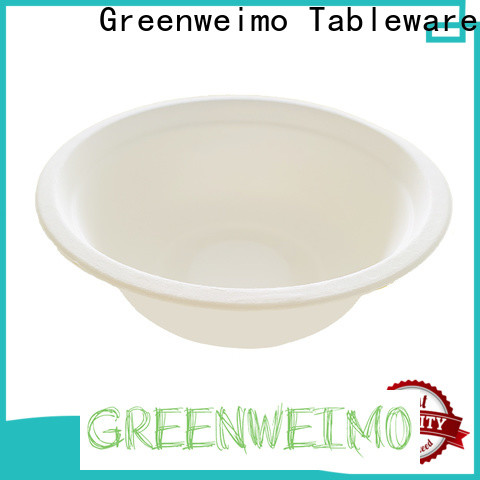 New eco plates and cutlery bagasse for business for meal
