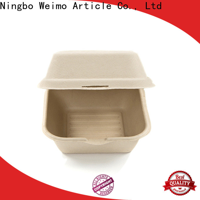Greenweimo clamshell green to go containers Supply for delivering