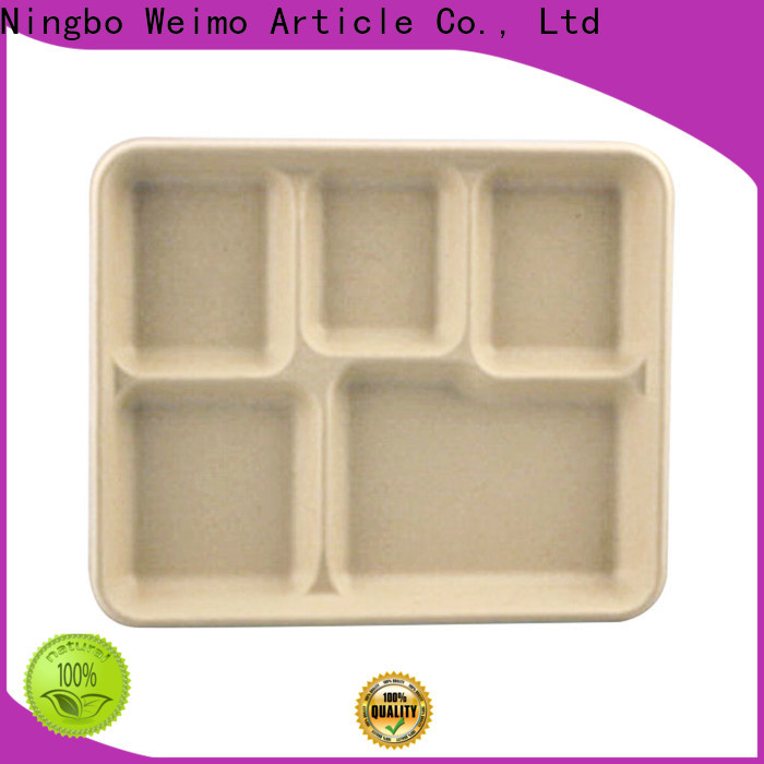 Top bagasse tray tray company for oily food