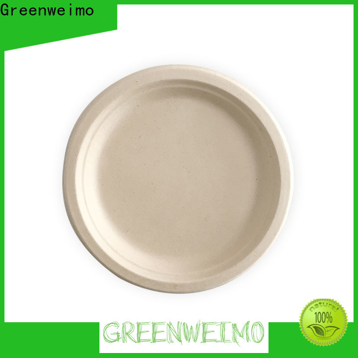 Greenweimo disposables biodegradable bowls with lids Supply for party