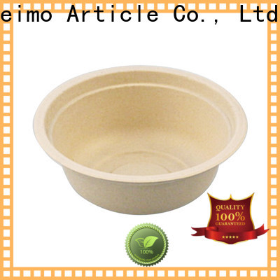 Latest biodegradable materials bowl Supply for food