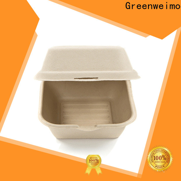 Greenweimo Latest biodegradable clamshell food containers for business for delivering