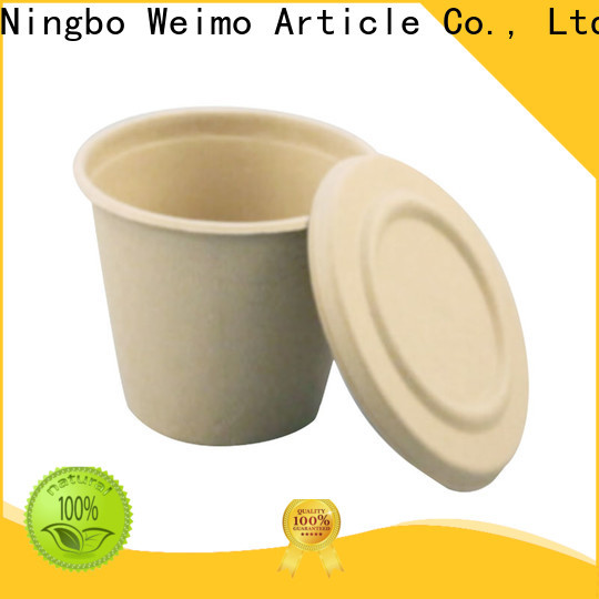 Greenweimo microwave biodegradable cold cups for business for drinking