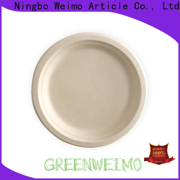 Greenweimo compartment biodegradable sugarcane products company for party