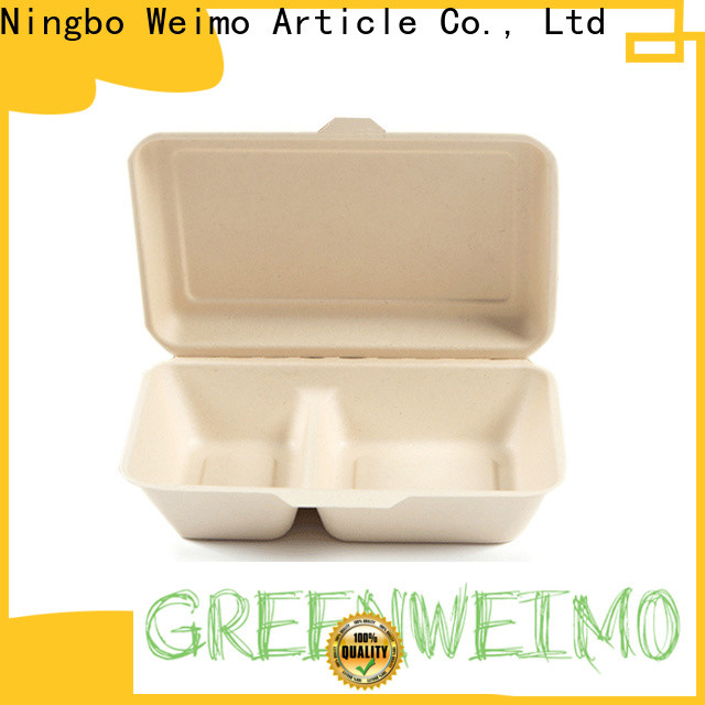 Greenweimo takeaway clamshell food containers Suppliers for food