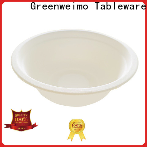Greenweimo High-quality biodegradable soup bowls for business for food