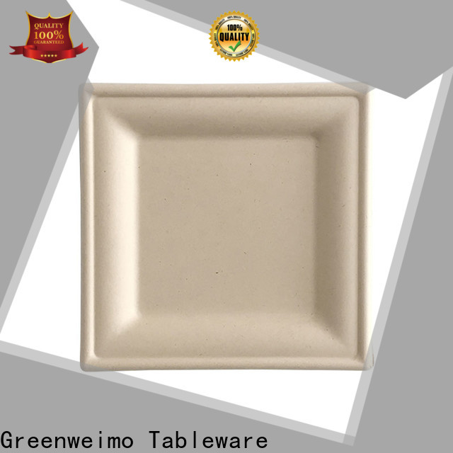 Top compostable plates and cutlery disposables factory for party