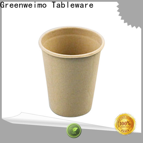 Greenweimo High-quality compostable paper cups Suppliers for drinking