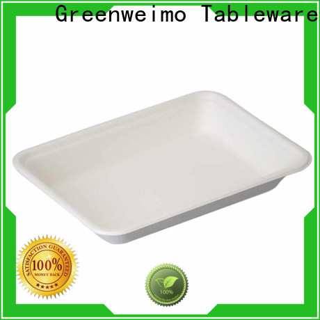 Greenweimo New green paper tray company for wet food