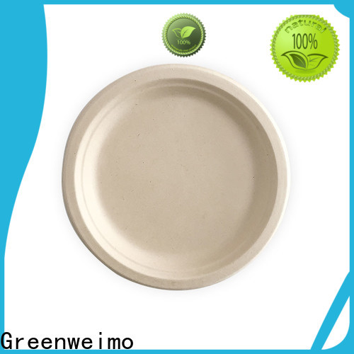 Greenweimo High-quality eco friendly dinnerware manufacturers for party