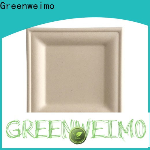 Greenweimo ellipse biodegradable disposable utensils for business for wet food