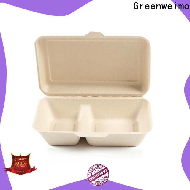 Greenweimo food eco friendly food packaging supplies company for delivering