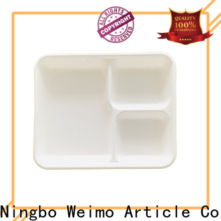 High-quality recyclable food trays cake factory for hot food