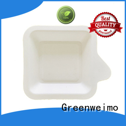 Best recycled paper food trays wheat Supply for wet food