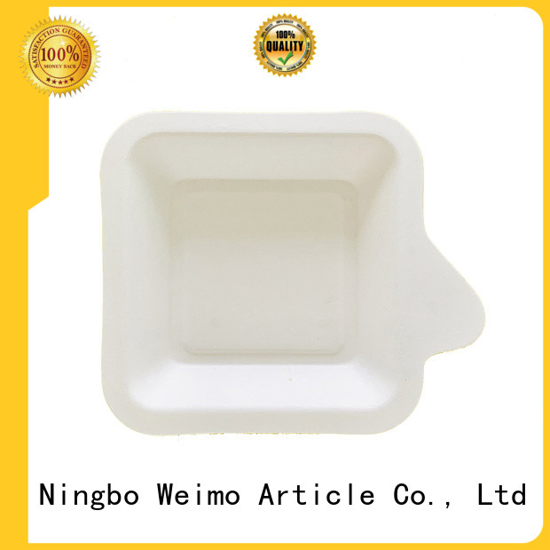 Top recycled paper plates wheat manufacturers for oily food