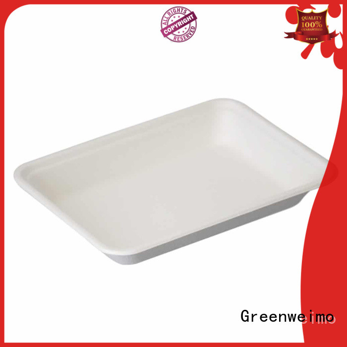 Greenweimo online bagasse trays available for party