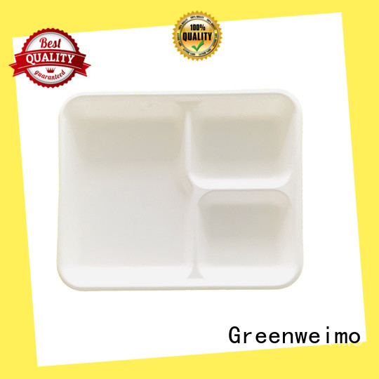 Greenweimo biodegradable tray available for wet food