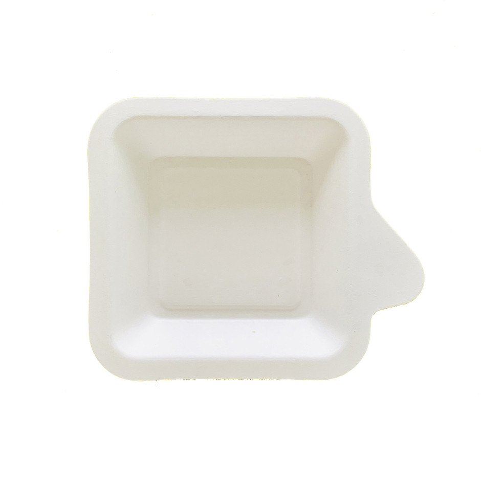 4 inch biodegradable bagssse cake tray