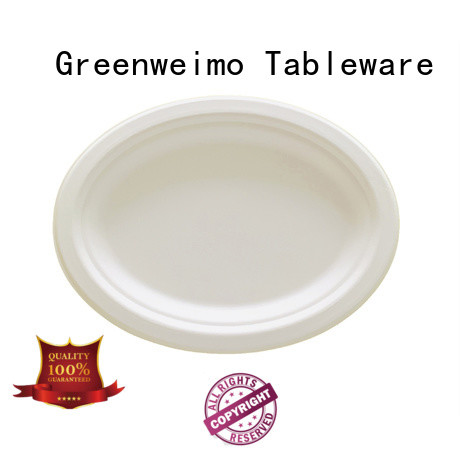 Greenweimo biodegradable plate compartment for activity