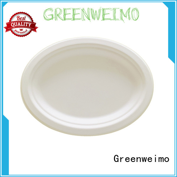 Greenweimo compostable biodegradable plate manufacturers for party