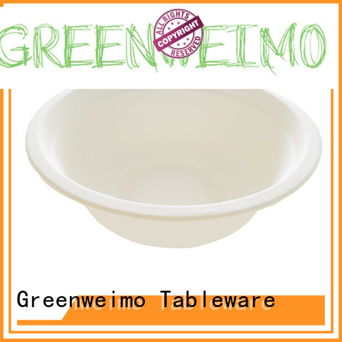 Greenweimo disposable biodegradable bowl on sale for meal
