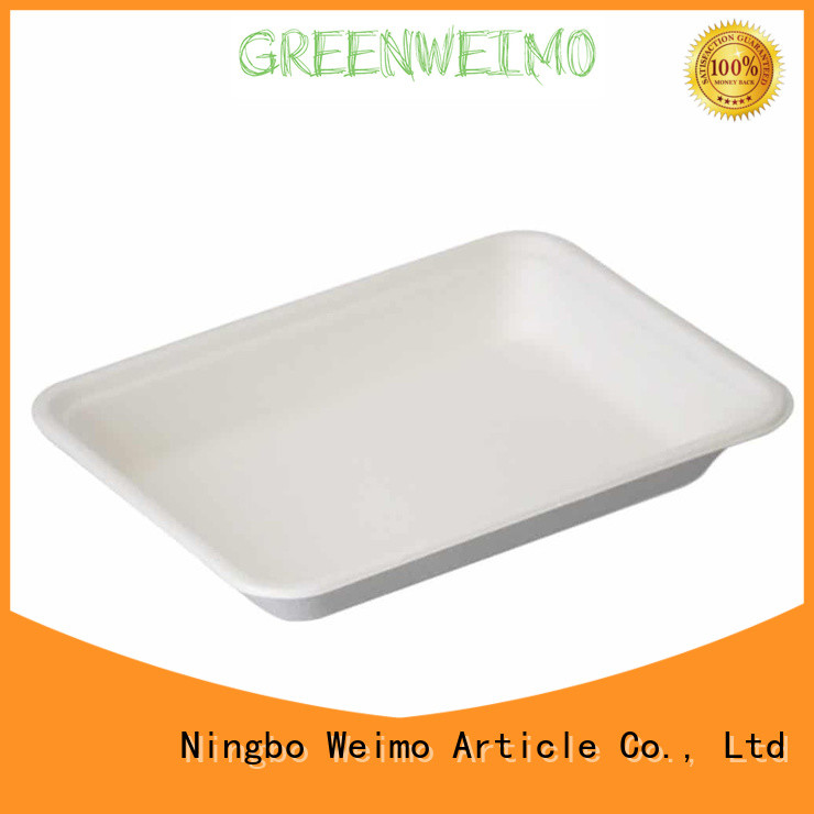 Greenweimo tray compostable food trays for business for hot food