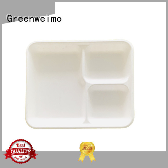 Greenweimo cake meal tray factory for oily food