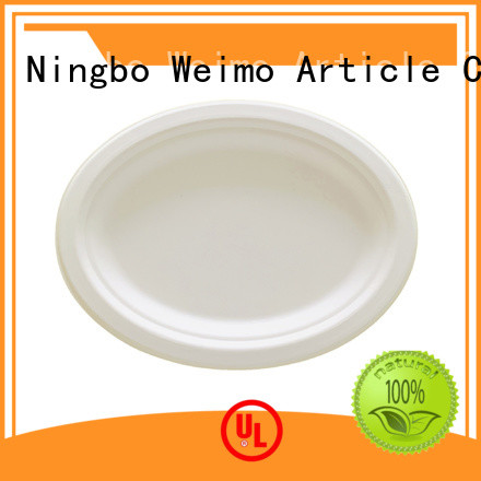 Greenweimo disposable biodegradable plate meet different market for party