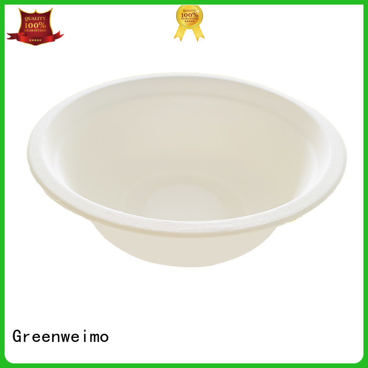 Greenweimo disposable biodegradable bowl meet different needs for food