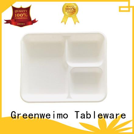 safe bagasse traysstraw on sale for hot food