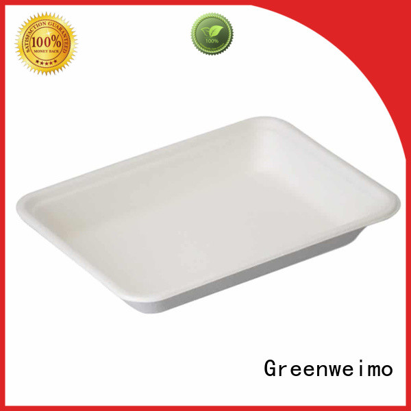 safe biodegradable tray available for hot food