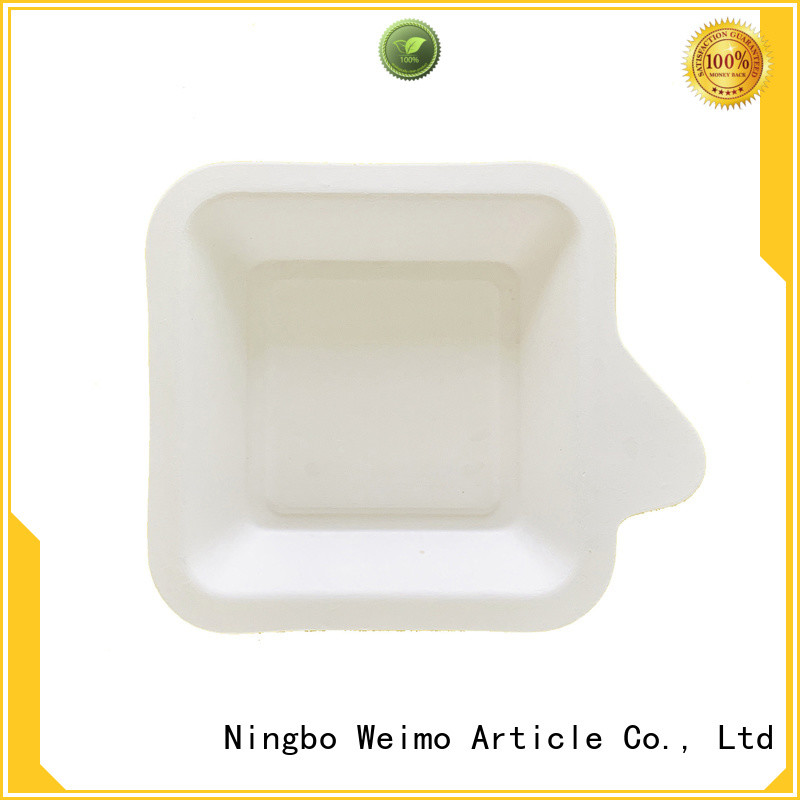 Greenweimo biodegradable eco tableware Supply for oily food