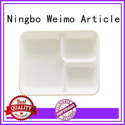 Greenweimo safe bagasse trays meet different market for wet food